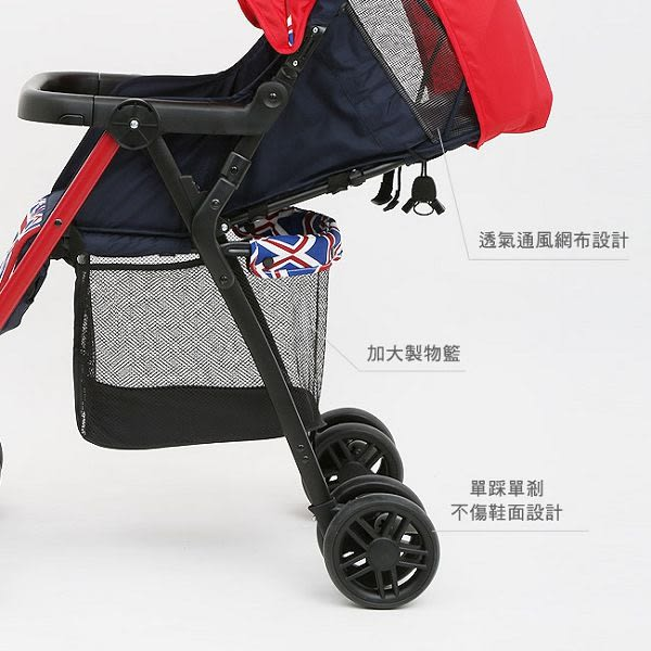 【降價了】奇哥 Joie New aire 輕便推車 (紅色) 2480元