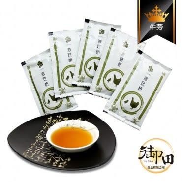 【御田】頂級黑羽土雞精品手作牛蒡滴雞精(100入環保量販超值組)