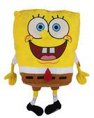 【卡漫城】 海綿寶寶 絨毛 玩偶 40cm(不含手腳) ㊣版 SpongeBob 娃娃 抱枕 靠墊 靠枕 擺飾