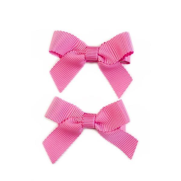 美國 Ribbies Clippies 經典蝴蝶結2入組-泡泡糖