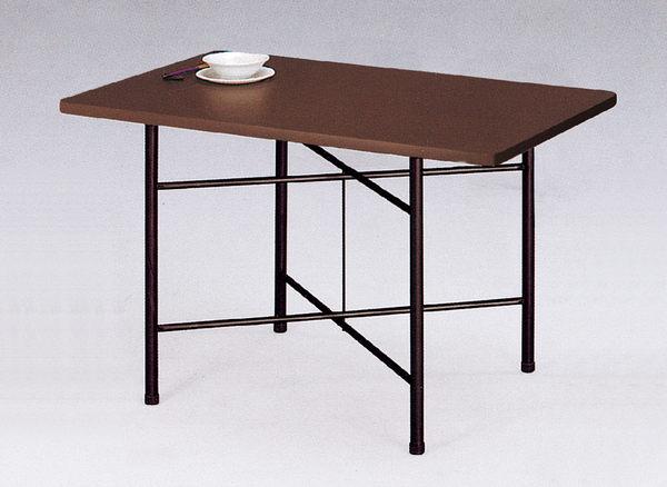 【 IS空間美學】3.5X2尺木心美耐板餐桌(兩色可選)