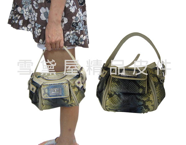 ~雪黛屋~GiLL 手提包小容量復古仿舊設計100%進口牛皮革材質隨身物品外出休閒手提百搭款SMB0990