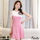 韓版大碼顯瘦時尚百搭休閒修身潮流洋裝 0702H 彼得麗絲