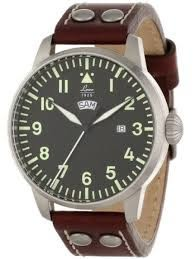*大元˙全省*【24期0利率 85折】Laco 朗坤 861807 飛行員系列 男士石英錶 真皮錶帶 總代理公司貨