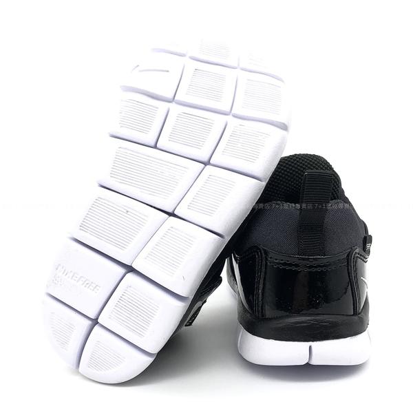 《7+1童鞋》小童 NIKE DYNAMO FREE (TD) 經典 毛毛蟲鞋 輕量 寶寶 運動鞋 H801 黑色