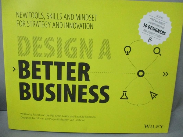 【書寶二手書T4/大學商學_ZDE】Design a Better Business: New Tools, Skill