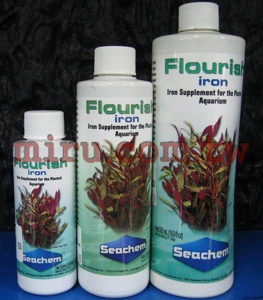 【西高地水族坊】美國原裝進口 西肯Seachem 高濃度鐵質添加劑(500ml)