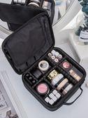 化妝包 化妝包大容量多功能簡約便攜網紅化妝箱專業手提隨身化妝師跟妝包 綠光森林