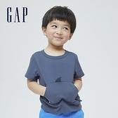Gap男幼童 可愛純棉立體動物T恤 701702-藍色