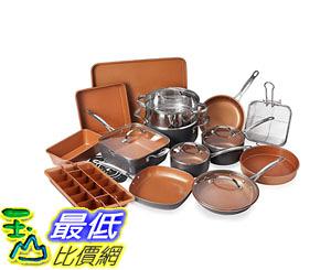 [8美國直購] 陶瓷不沾鍋 廚房套裝 Gotham Steel 20 Piece All in One Kitchen Cookware + Bakeware Set with Non-Stick