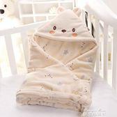 包被新生兒薄款嬰兒抱被春秋純棉抱毯初生夏季小被子包巾寶寶用品   麥琪精品屋
