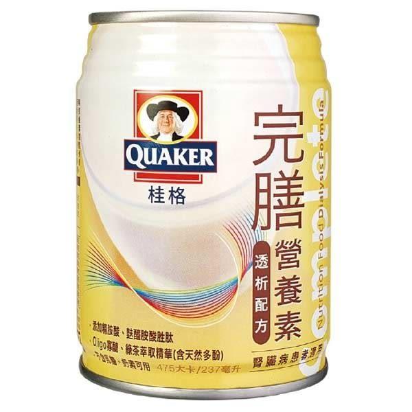 桂格 完膳營養素-透析配方(腎臟病專用) (237ml,24罐)【杏一】