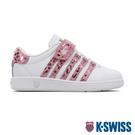 K-SWISS Classic VN VLC時尚運動鞋-童-白/粉紅豹紋