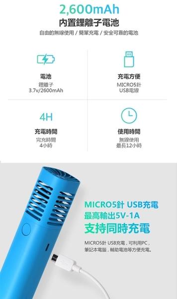 小饅頭** 韓國sillymann 攜帶型風棒電扇(白色、藍色、黑色、紅色、黃色、粉色)