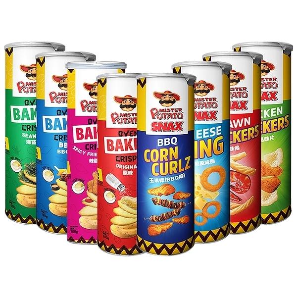 馬來西亞 MISTER POTATO 薯片先生(1罐入) 款式可選【小三美日】