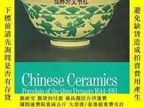二手書博民逛書店【罕見】1987年《中國清代瓷器》Chinese Ceramic