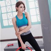運動系 無縫工字背運動無鋼圈內衣S-XL(藍) 《生活美學》