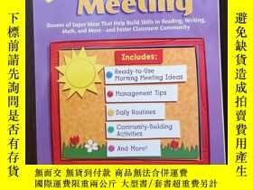 二手書博民逛書店Quick罕見Tips! Morning MeetingY12800 Joan Novelli Scholas