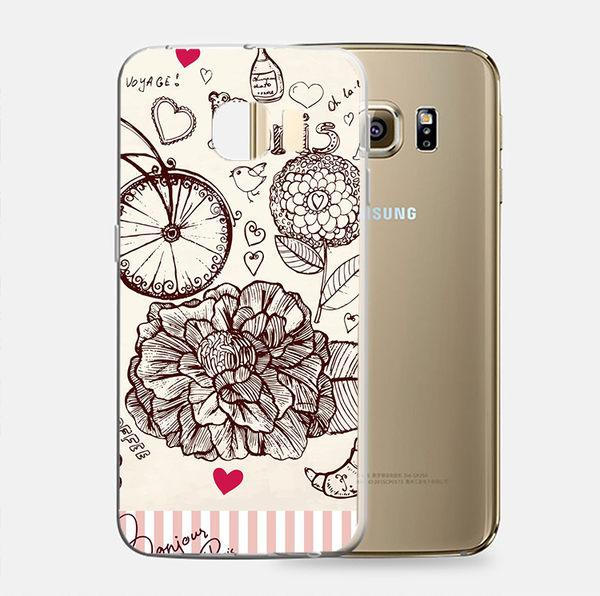 ♥ 俏魔女美人館 ♥Samsung Galaxy S7 {小清心*立體浮雕軟殼} 手機殼 手機套 保護殼