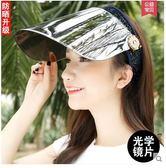 女士夏季防紫外線電動車戶外騎車防曬遮陽帽PLL3827【男人與流行】