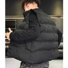 潮流時尚日系街頭風格保暖加厚鋪棉背心外套