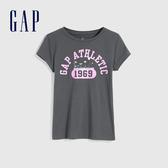 Gap女童 創意風格印花短袖T恤 577845-青黑色