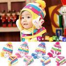 *甜蜜蜜親子童裝*可愛((立體小兔兔)) 護耳保暖帽+圍巾二件組