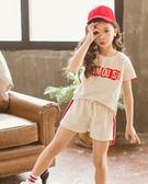 女童時髦套中大童洋氣女孩韓版兒童運動兩件套潮吾本良品