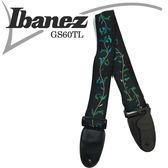 【非凡樂器】Ibanez GS60TL系列生命樹背帶/肩帶/吉他貝斯適用【花紋GR】