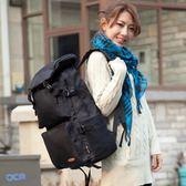 旅行背包超大容量男雙肩包女韓版潮帆布背囊防水戶外登山包電腦包 【PINKQ】