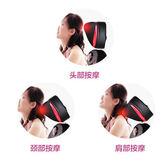 頸椎按摩器頸腰背肩部全自動多功能開背按摩椅墊儀家用全身揉捏JD  歡樂聖誕節