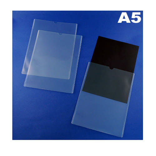 YOMAK A5 直式U型文件套(12入包)/文件夾/文件袋