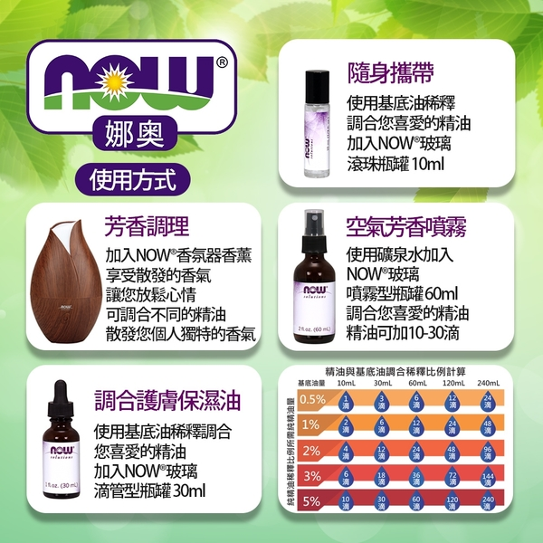 【NOW娜奧】Now Foods 純廣藿香精油 30ml ~7575~現貨