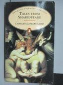 【書寶二手書T5/原文小說_KEL】Tales From Shakespeare