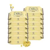 韓國 Enblanc 頂級柔緻純水有蓋攜帶裝濕紙巾-蠟菊萃取物20抽12包(箱購)