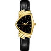 HAMILTON Ventura MIB星際戰警 跨國行動 盾形石英手錶-金框 H24301731