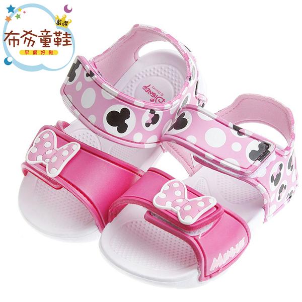 《布布童鞋》Disney迪士尼米妮粉色超輕量速乾涼鞋(16~19.5公分) [ MIR854G ]