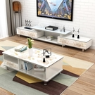 電視櫃電視櫃茶幾組合小戶型現代簡約客廳家...