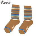 ADISI 兒童條紋對折雪襪AS17043(S-L) / 城市綠洲專賣(保暖襪、毛襪、保暖透氣)