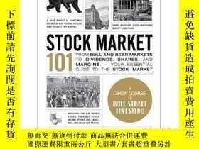 二手書博民逛書店101系列:股票市場罕見英文原版 Stock Market 10