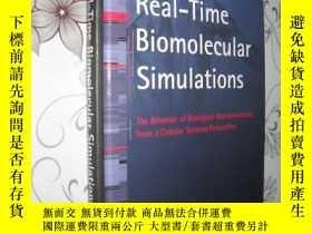 二手書博民逛書店Real-time罕見Biomolecular Simulati