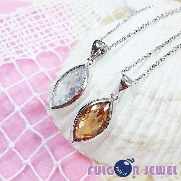 FU飾品 流行飾品  唯一 鋯石項鍊【Fulgor Jewel】