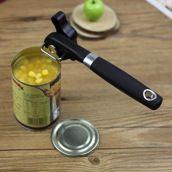 多功能罐頭開罐器不銹鋼頭簡易開瓶器鐵皮罐頭刀瓶起子工具【萬聖夜來臨】