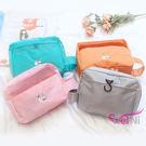 wei-ni 時尚純色洗漱包 整理袋 盥洗包 化粧包 旅行收納袋 萬用收納袋 旅行包