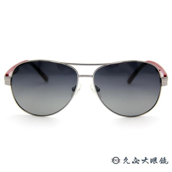 Lee Cooper 太陽眼鏡 飛官款 墨鏡 LE800S C03 鐵灰-紅 久必大眼鏡