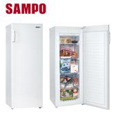 贈好禮(聲寶桌扇+聲寶雙USB充電器)【SAMPO聲寶】170公升直立式冷凍櫃(SRF-170F)不含安裝