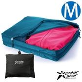 【Polarstar】雙層衣物收納袋『黑-M 』P18733 戶外.旅行.旅遊.出國.清潔袋.旅行袋.收納袋