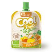 法國 Vitabio 有機優鮮果昔(蘋果/胡蘿蔔)90g【佳兒園婦幼館】