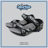 AIR WALK 涼鞋 黑迷彩 黏帶 拖鞋 休閒 運動 男鞋 A751230-225 -SPEEDKOBE-