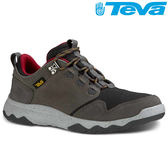 TEVA 超輕量科技大底低筒防水健走登山鞋ARROWOOD WP - 灰